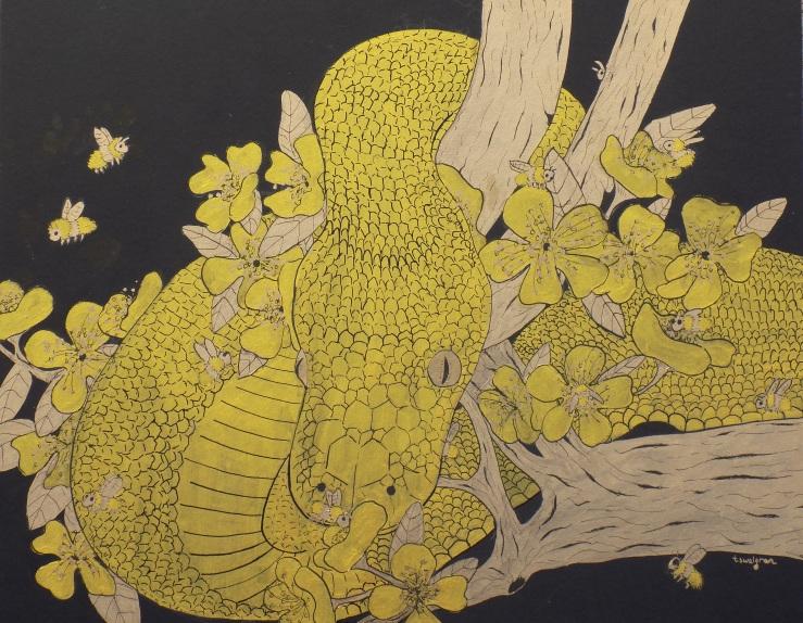 Gold Leaf Snake